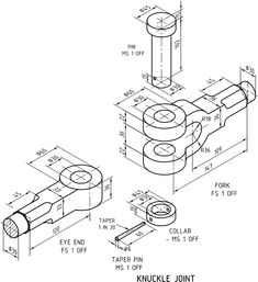 Machine Drawing Knuckle Joint Pdf