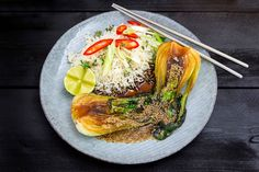 Härligt krispig vegetarisk rätt med mycket smaker. Får sin härliga karaktär av Touch of Taste Asian Fond Green and Fresh.