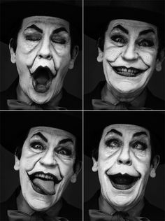 Sandro MILLER :: after Jack Nicholson by Herb Ritts, 1988 [John Malkoivich, 2014]