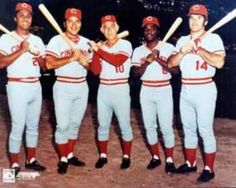 The Big Red Machine. Go Reds!