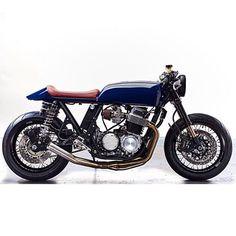 Beautiful cb750f @purebreedcycles #cb750 #hondaCB #hondacaferacers #vintageMotorcycle #honda