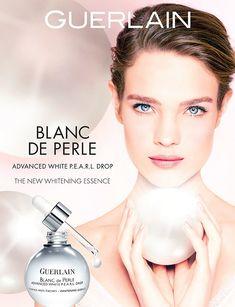 Guerlain Blanc de Perle Whitening Essence S/S 2014 | Natalia Vodianova photographed by Ellen Von Unwerth