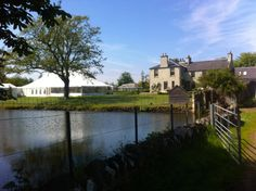 A pretty and idyllic setting for a Best Intent Marquee wedding! #wedding #event #Scotland