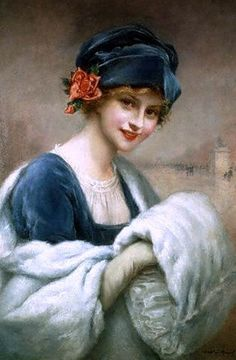 Portrait of a Woman by Francois Martin Kavel