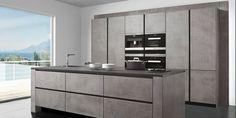 Moderne Küche / aus Beton STUCCO ZEYKO