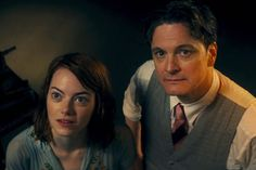 """Interesting Chemistry of Colin Firth and Emma Stone in """"Magic in the Moonlight""""- Woody Allen"""