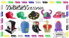 Sombreros de Foamy