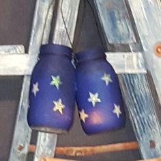 Starry Night Mason Jar Lanterns | The Rustic Chick Boutique