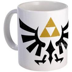 Zelda triforce mug