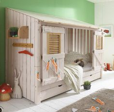 Love the little huts. Could add this to a bunkbed for privacy in shared kids room.