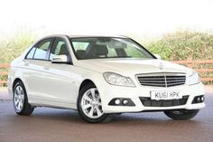 Used 2011 (61 reg) White Mercedes-Benz C Class C220 CDI BlueEFFICIENCY SE Edition 125 4dr for sale on RAC Cars