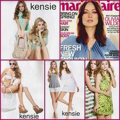 Kensie Spring '13 as seen in Marie Claire, April 2013