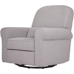 DaVinci Ruby Recliner and Glider, Choose Your Finish, Gray