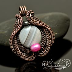 Hidden Heart Pendant, Wire Jewelry Tutorial by Nicole Hanna