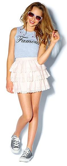 Junior Girls clothing, kids clothes, kids clothing | Forever 21 #GraphicTee #BallerinaSkirt