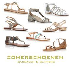 Bij de naam zomerschoenen, denk je gelijk aan schoenen die enkel uitgevoerd zijn met een zool en bovenin wat minimale leren of plastic riempjes. De zomer sandalen en slippers dus, zo plat mogelijk, MEER  http://www.pops-fashion.com/?p=11855