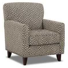 Graphics Kirkland Accent Chair. Like the pattern and colors?