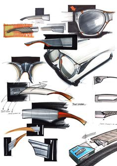 sketches vol.1 by Michał Markiewicz, via Behance