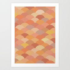 Circles Abstract 11 Art Print by Kimsey Price - $15.60
