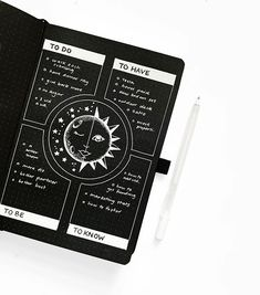 """After spending last week with a group of amazing women, I've been inspired to update my """"dreamline"""". Usually I include """"to have, to be, to… Bullet Journal 2020, Bullet Journal Notebook, Bullet Journal Themes, Bullet Journal Layout, Bullet Journal Inspiration, Book Journal, Bullet Journals, Journal Ideas, Blackout Book"""