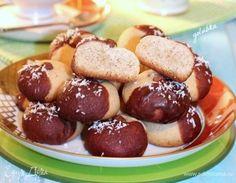 Медово-ореховое печенье. Ингредиенты: мука, разрыхлитель, корица