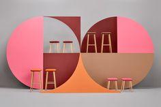 Balea Bar Stools by Muka Design Lab & Hug Sofa by Cristian Reyes for Missana » Retail Design Blog