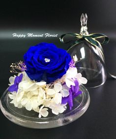 Preserved Flower by HappyMomentFlorist on Etsy