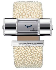 de Grisogono Watches - Lipstick Square White Gold -