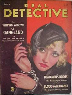 =-= 1934 Real Detective, Dead Man, True Crime, Men, Magazine Covers, Contents, Magazines, Stone, Journals