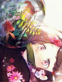 Check out our Demon Slayer merch here at Rykamall now! Anime Angel, Anime Demon, Fanarts Anime, Anime Characters, Totoro, Anime Love, Otaku Anime, Anime Art, Tamako Love Story