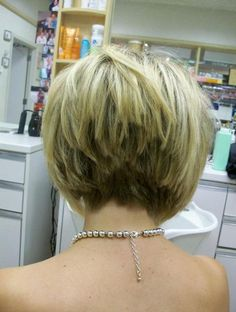 Summer Hairstyles for Short Hair, Stacked Hairstyles Back