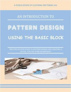 """Fitting patterns are very basic dress patterns that you'll use to achieve your perfect fit before making sewing patterns. They're the """"blank slate"""" you will use to develop your own distinctive designs"""