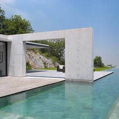 TADAO ANDO – Trailer from film moment on Vimeo. Set within the Hardt of Cumbres National Park, House in Monterey by Tadao Ando located In Monterrey, Mexico. Minimalist Architecture, Amazing Architecture, Landscape Architecture, Interior Architecture, Interior And Exterior, Ancient Architecture, Sustainable Architecture, Angular Architecture, Japanese Architecture