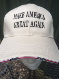 Make America Great Again Flag cap hat Trump 2016 by ByGeorgeGifts Raised  Right 49374729a0d8