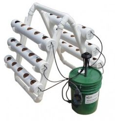 For $399.99 the U-Gro 30 Hydroponic Garden System comes complete with all component parts and is ready for planting upon setup. This space-saving system takes up less than a 3′x5′ area, and requires little time and maintenance to grow and enjoy nutritious vegetables. The nutrient solution is pumped through the coconut fiber-lined grow tubes, which are designed to optimize flow of oxygen, water and nutrients to your plants in all stages of growth. Patent pending.