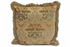 Vintage Fl Damask Pillow I Fluff French Country Throw Pillows