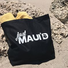 6a4f29973bf Honeymoon Tote Bag - Just Maui d - Honeymoon Beach Bag - Honeymoon Gift -  Bride Tote for Beach Wedding - Hawaii Wedding Gift - Maui Tote Bag