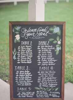 Sapphire Events   Catherine Guidry Photography   Wedding Planning   New Orleans Wedding   Stella Plantation Wedding   Blue and White Wedding   Classic Rainy Day Wedding   Outdoor Wedding   Tent Wedding   Hunter Boots   Blue and White Wedding Details   Small chalk hand-lettering   chalkboard sign   seating chart ideas   calligraphy