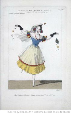 [L'Ile des Pirates, ballet de Louis Henry : costume de Mlle Noblet, danseuse / gravé par Maleuvre] Auteur : Maleuvre, Louis (1785-18.. ; graveur). Graveur Éditeur : Martinet (Paris) Date d'édition : 1835 Sujet : Costume de danse