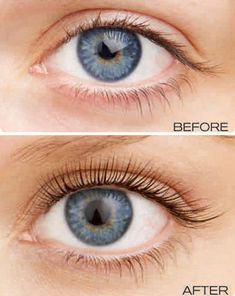"LVL Eyelashes ""Before & After"" (Lengthen, Volume & Lift)"