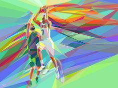 The colors of basketball (8) by tsevis, via Flickr