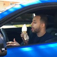 How real guys must eat ice cream! Original link: http://ift.tt/1MS70VK