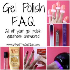 Get all of your gel polish questions answered in this frequently asked questions post. Didn't get your question answered? Leave a comment and I'll answer it