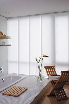 panel sliding blinds | ... Window Shades | Pearland Panel Track Shades and Sliding Panels