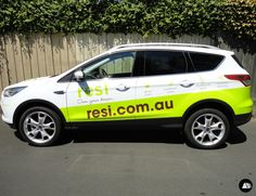 Ford Kuga, Partial Vehicle Wrap, RESI, SUV Vehicle Wrap
