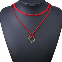 Just posted Choker Necklace O.... A great read we think :).  http://www.gkandaa.net/products/choker-necklace-outfits-fashion-women-two-layers-red-tattoo-sun-pendant?utm_campaign=social_autopilot&utm_source=pin&utm_medium=pin