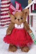 "Bearington Bears Pippa Mint Christmas Bear 10"""