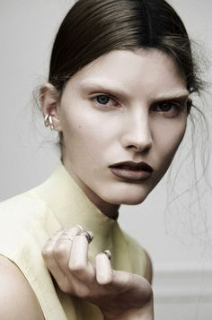 Anne Ringgaard at Elite Copenhagen by Sascha Oda Makeup Inspo, Makeup Inspiration, Makeup Tips, Beauty Makeup, Hair Makeup, Hair Beauty, Eyebrow Makeup, Photoshoot Inspiration, Beauty Box