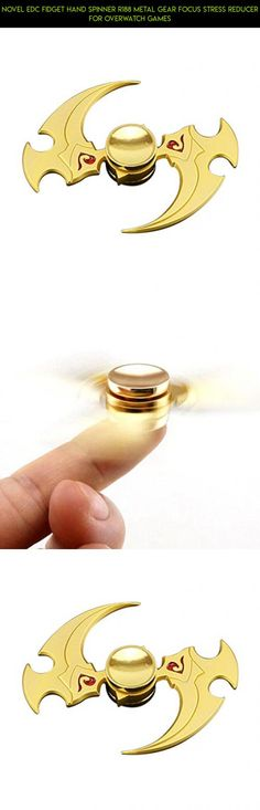 Novel EDC Fidget Hand Spinner R188 Metal Gear Focus Stress Reducer For Overwatch Games #racing #camera #kit #tech #overwatch #drone #spinner #parts #shopping #plans #gadgets #products #fpv #metal #technology