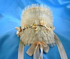 Vintage little girl's Easter bonnet.
